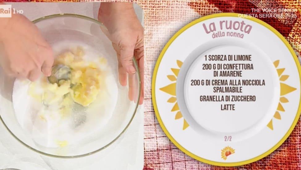 Ruota della nonna, la torta di Natalia Cattelani dalle ricette E' sempre mezzogiorno