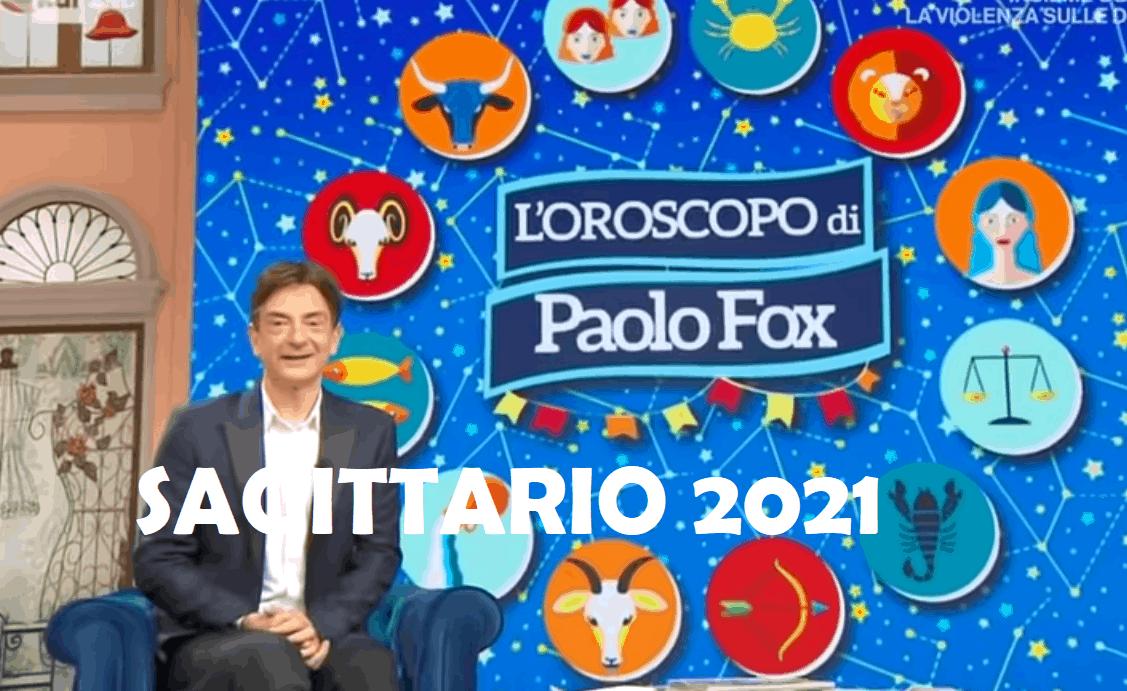Oroscopo Paolo Fox 2021 Sagittario nuovo anno: novità e cambiamenti in arrivo