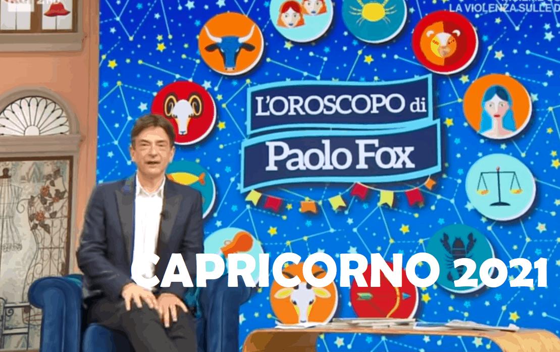 Oroscopo Paolo Fox 2021 Capricorno: i cambiamenti possono portare qualcosa di positivo