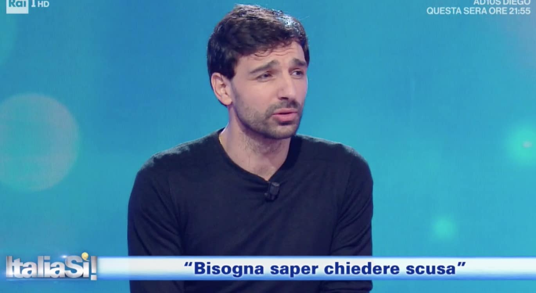 """Raimondo Todaro a Italia Sì: """"E' importante sapere chiedere scusa"""" (Foto)"""