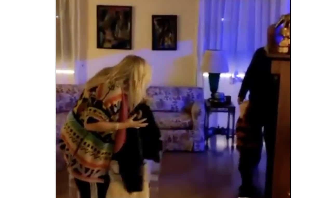 Mara Venier a casa dopo Domenica In e il video col nipotino è tenerissimo (Foto)