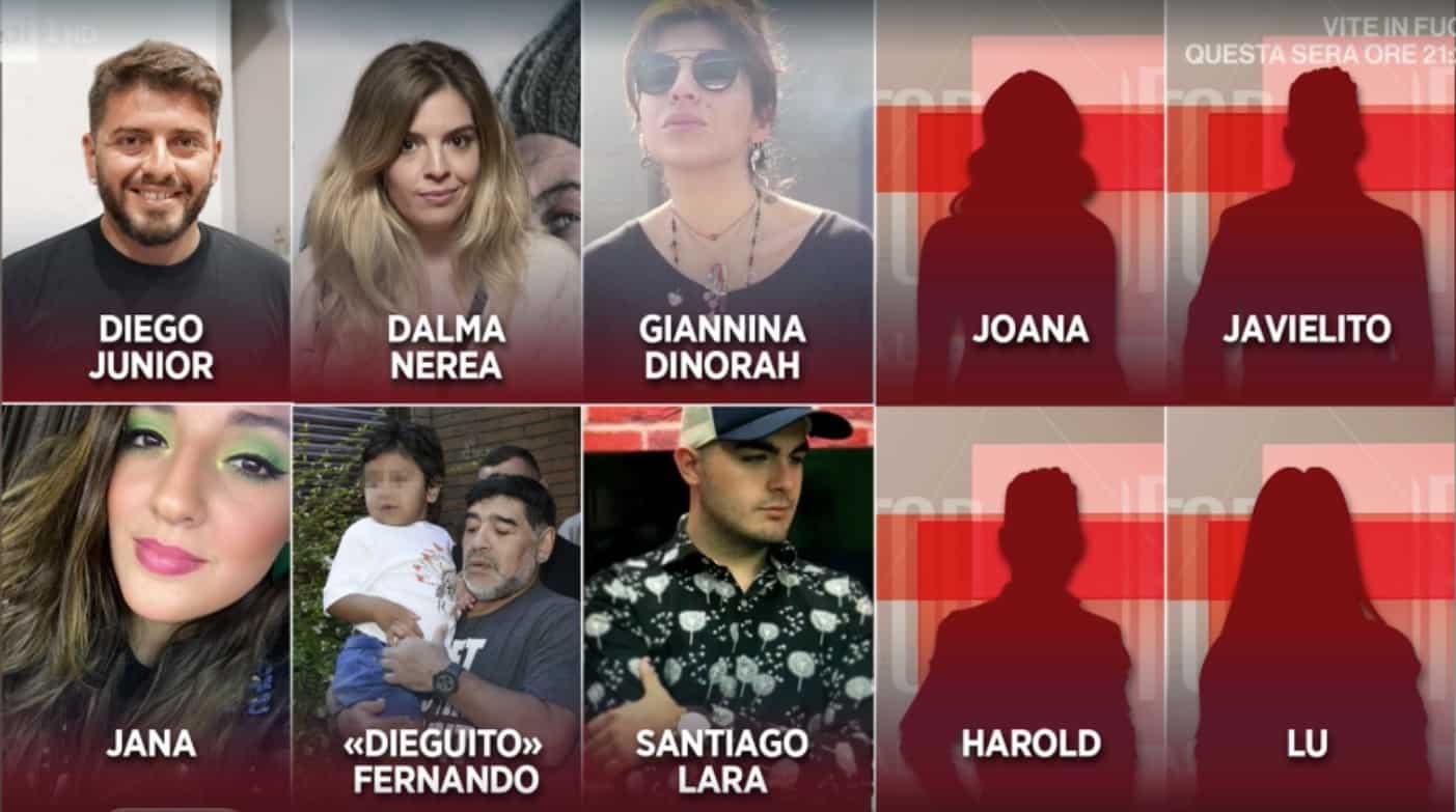 Quanti figli ha Maradona e a chi andrà la sua eredità?