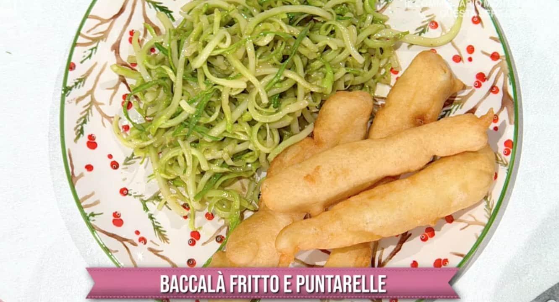 Baccalà fritto con puntarelle, la ricetta della cena di Natale di Gian Piero Fava