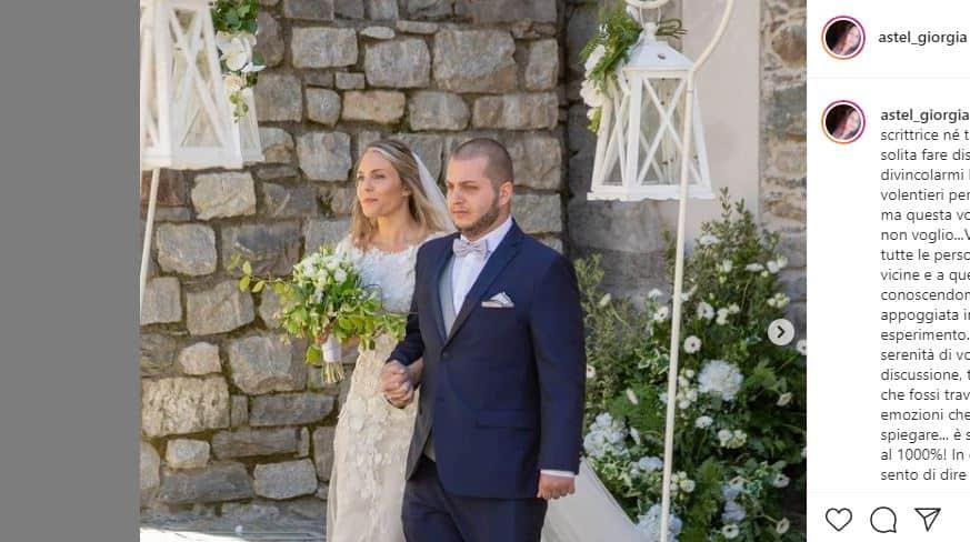 Giorgia Pantini su Instagram commenta il super finale di Matrimonio a Prima vista Italia 2020