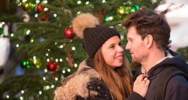coppia a Natale