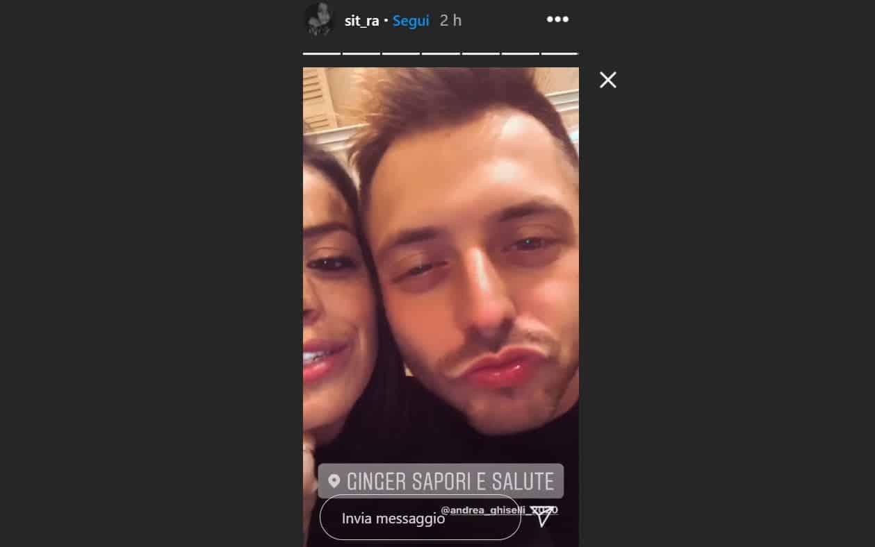 Sitara Rapisarda e Andrea Ghiselli sono tornati insieme? Prima storia sui social