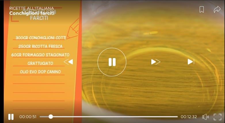 Conchiglioni farciti per le Ricette all'italiana di Fabio Campoli