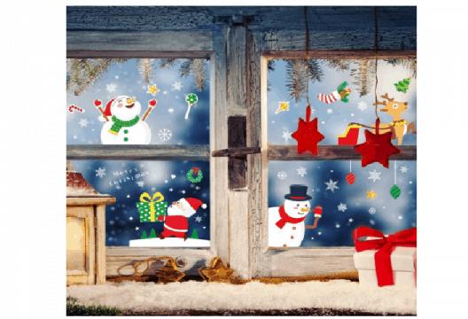 adesivi natalizi