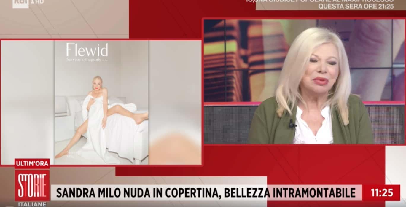 Gli attacchi a Sandra Milo dopo la copertina, le risposte da Tiziano Ferro a Storie Italiane (Foto)