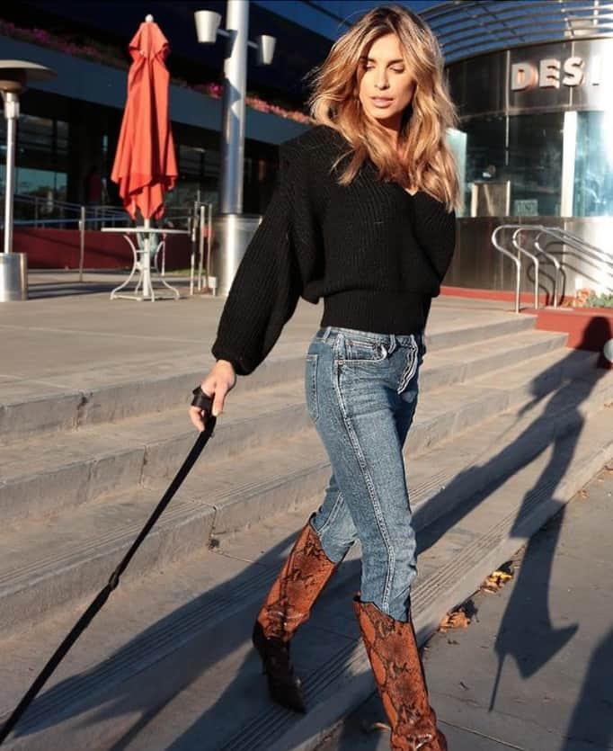 Elisabetta Canalis bionda e con le extension: è il biondo americano (Foto)