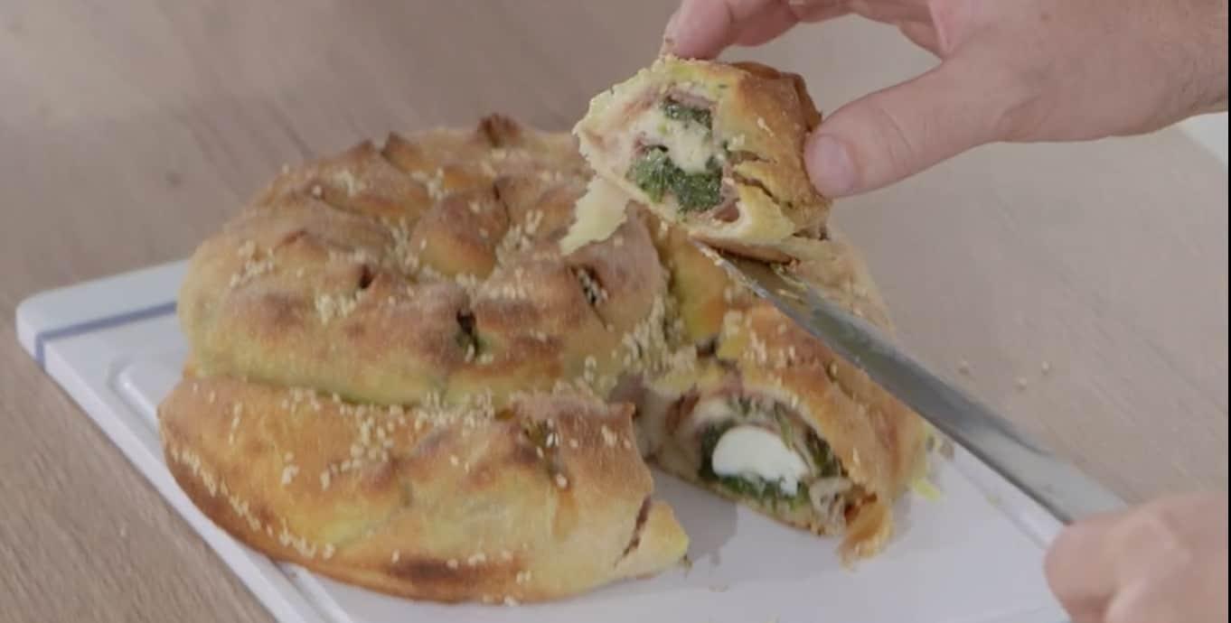 Rustico di spinaci con la pasta pizza di Fabio Campoli, Ricette all'italiana