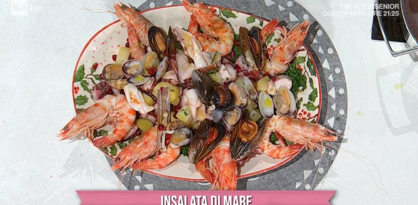 Ricette Mauro Improta: insalata di mare per la vigilia di Natale