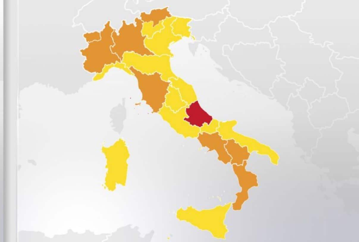 """Una sola regione in zona rossa dal 6 dicembre: come cambia la """"mappa"""" dell'Italia"""