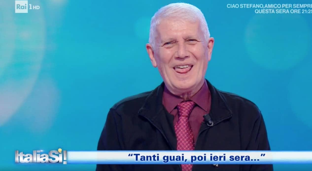 """Paolo Barabani da Sanremo a The Voice Senior e Italia Sì: """"Tanti guai e poi ieri sera…"""" (Foto)"""