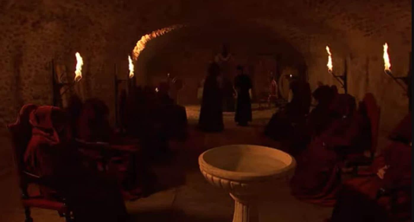 Il segreto anticipazioni: la setta che ha rapito don Filiberto, chi sono ?