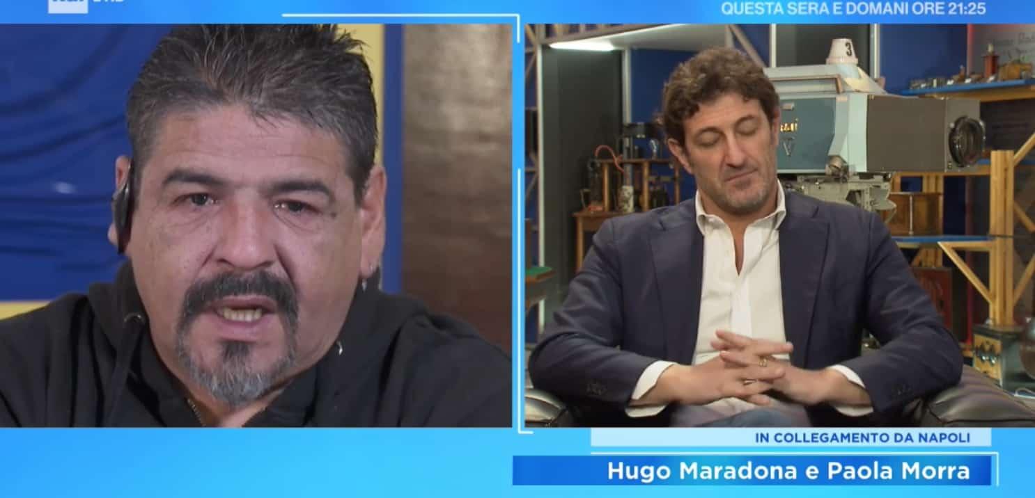 Il rammarico per Maradona, ma non è stato abbandonato: con lui c'erano le figlie e il nipote