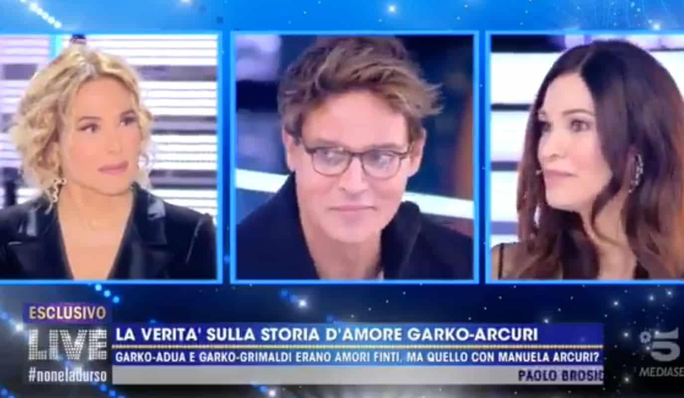 Gabriel Garko e Manuela Arcuri a Live: tutta la verità sulla loro storia d'amore