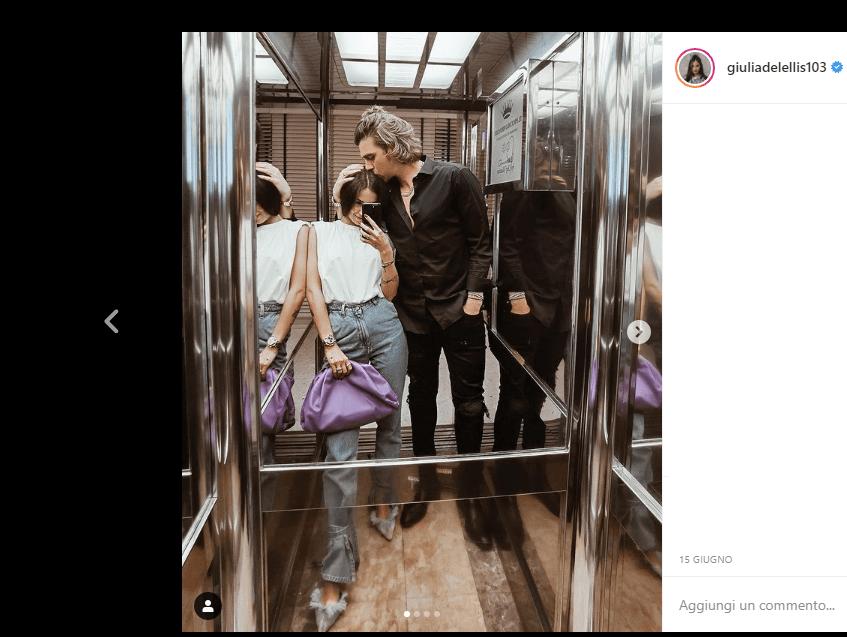 Giulia De Lellis e Andrea Damante insieme a Dubai ma nulla è come sembra