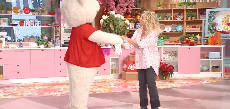Antonella Clerici festeggia il compleanno anche oggi in tv (Foto)