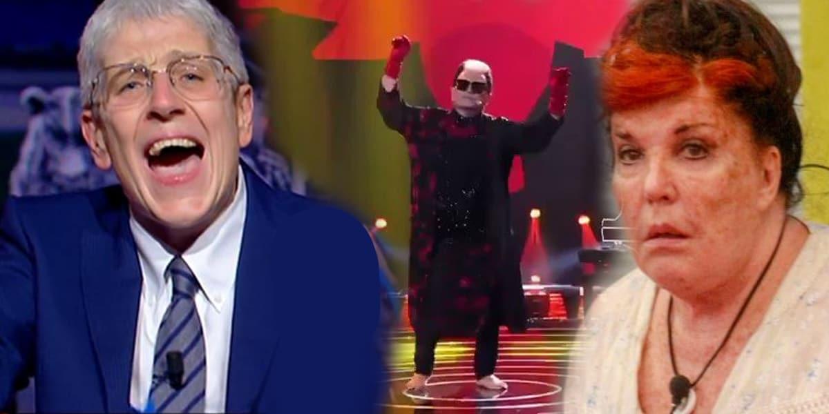 I momenti più trash del 2020 in tv: dalla contessa nuda a Morgan e Bugo a Sanremo