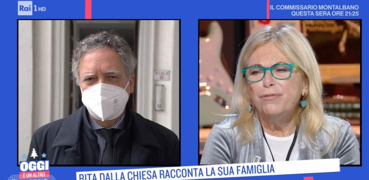 """Il rapporto speciale tra Rita Dalla Chiesa e il fratello Nando: """"E' una raccomandazione di mio padre"""""""