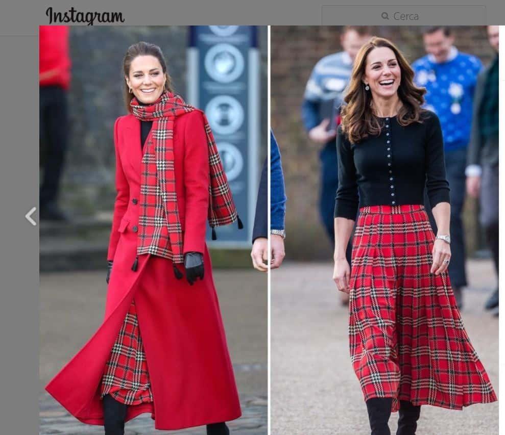 Kate Middleton in rosso perfetta per il Natale incanta come sempre (FOTO)