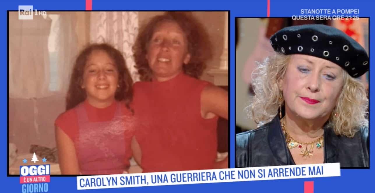 A Oggi è un altro giorno Carolyn Smith racconta quando è morta sua madre (Foto)