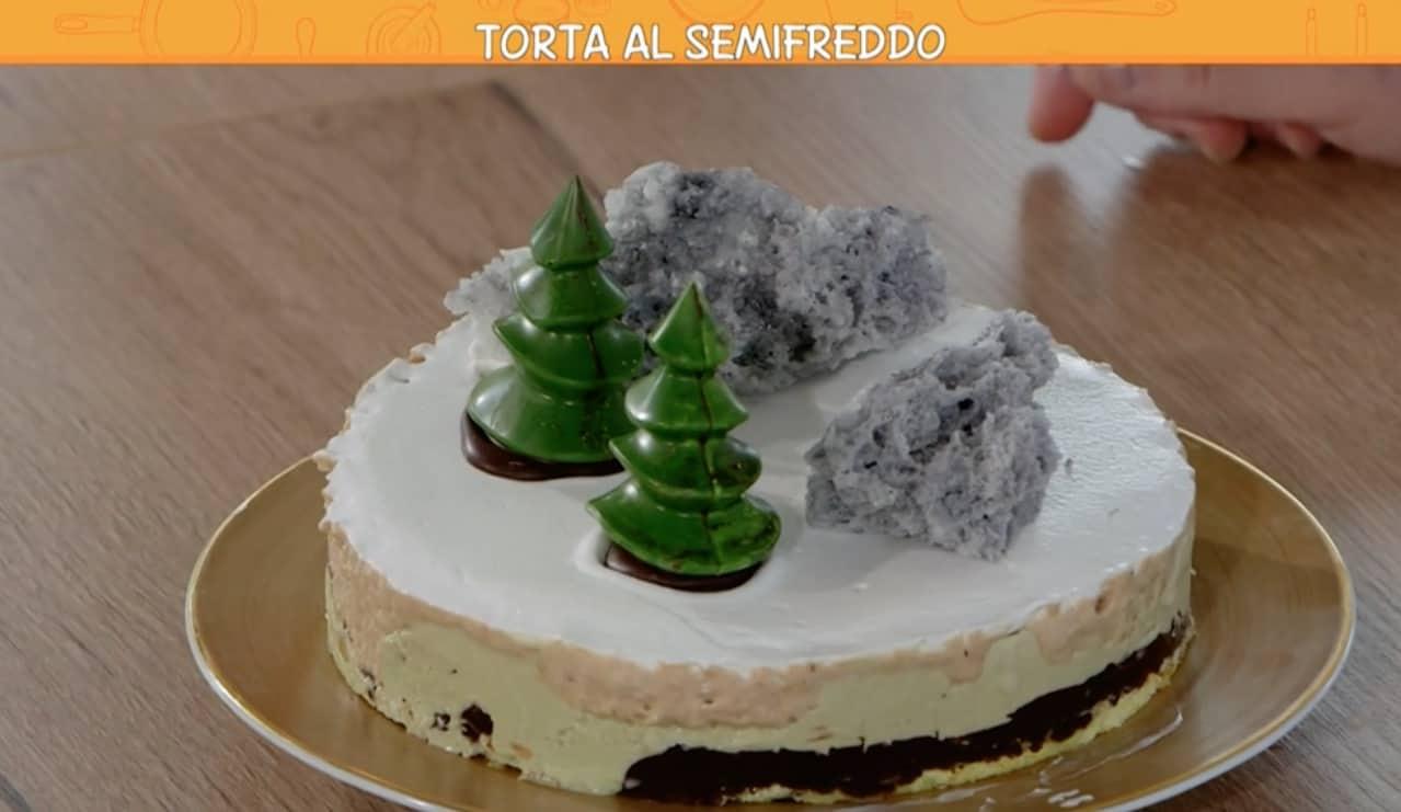 La torta semifreddo di Francesco Mastroianni per Ricette all'italiana