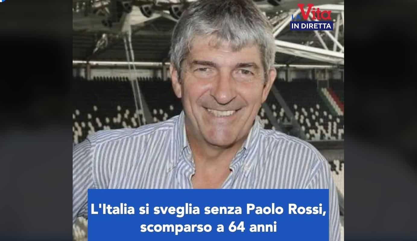 L'Italia si sveglia senza Paolo Rossi: addio Pablito