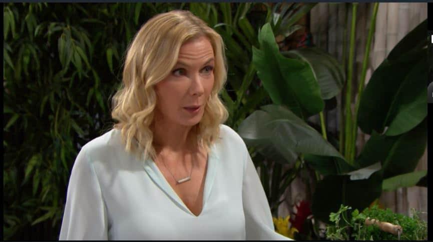 Beautiful anticipazioni: Brooke ha la prova schiacciante e pensa che Ridge l'abbia tradita