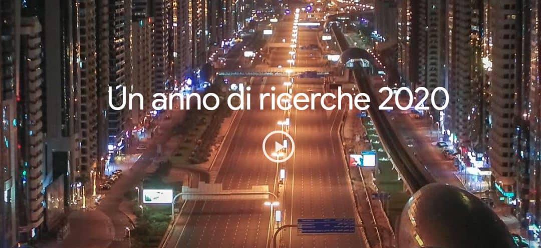 Un anno di ricerche su Google: le 10 parole più cercate in Italia nel 2020