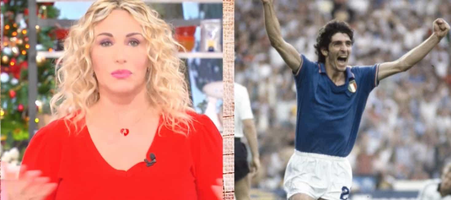 Antonella Clerici si fa forza, dà l'addio a Paolo Rossi e poi fa compagnia al suo pubblico  (Foto)