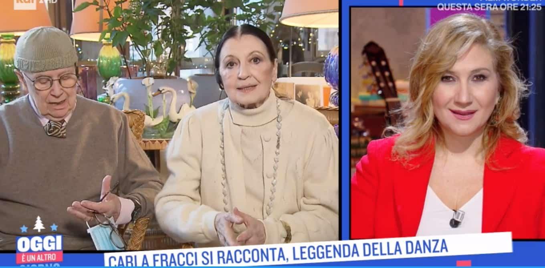 """La leggenda della danza, Carla Fracci: """"Non si confonda la danza con la ginnastica"""""""