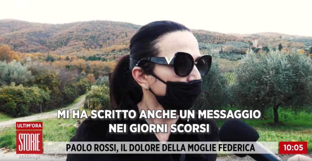 """La moglie di Paolo Rossi: """"Nessun uomo guarderà le nostre figlie come lui"""""""