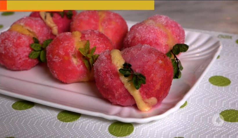 La ricetta delle peschine dolci di Anna Moroni da Ricette all'Italiana