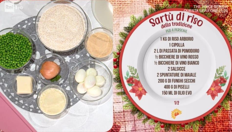 Sartù di riso di Mattia e Mauro Improta, le ricette delle feste di Natale
