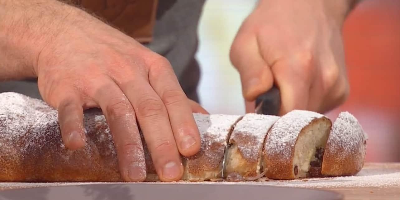 Pan tronchetto di Natale è la ricetta di oggi di Fulvio Marino