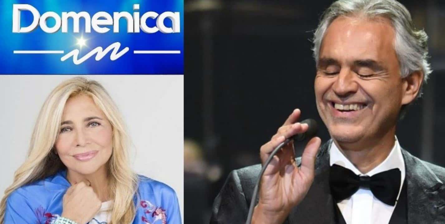 Domenica IN anticipazioni 13 dicembre 2020: super ospite Andrea Bocelli