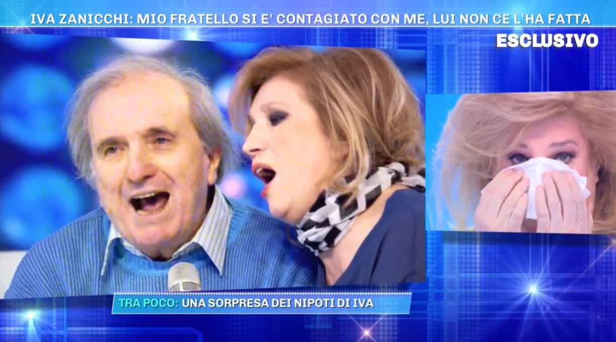 """Il dolore di Iva Zanicchi a Domenica Live: """"Non voglio fare la tv del dolore"""""""