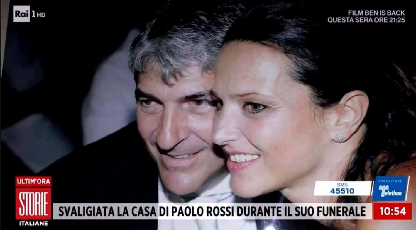 Furto in casa di Paolo Rossi: ad agire una banda organizzata?