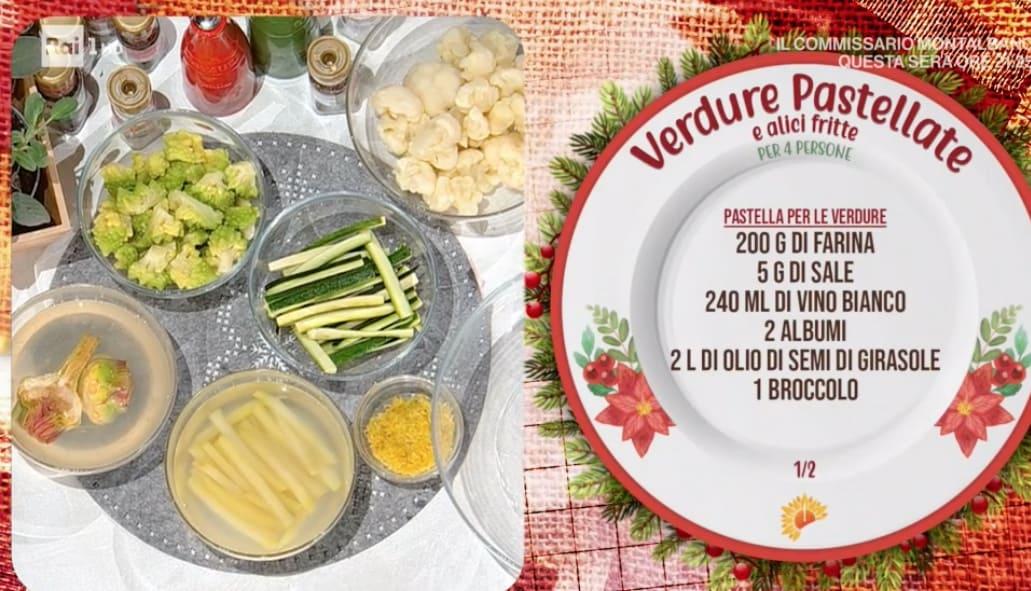 Verdure pastellate di Mauro Improta, le ricette per il fritto E' sempre mezzogiorno