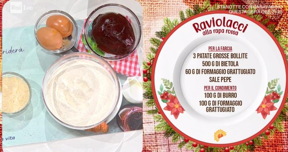 Raviolacci alla rapa rossa di zia Cri, la ricetta delle feste di Natale
