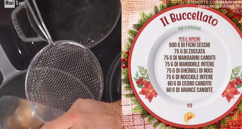 La ricetta del buccellato di Fabio Potenzano, il dolce di Natale dalla Sicilia per E' sempre mezzogiorno