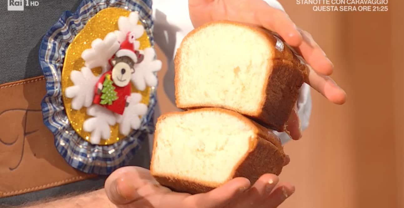 La ricetta di Fulvio Marino del pan brioche classico per il Natale di E' sempre mezzogiorno
