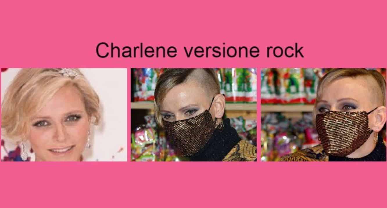 Charlene di Monaco con i capelli rasati, la principessa stupisce con il suo taglio rock (Foto)