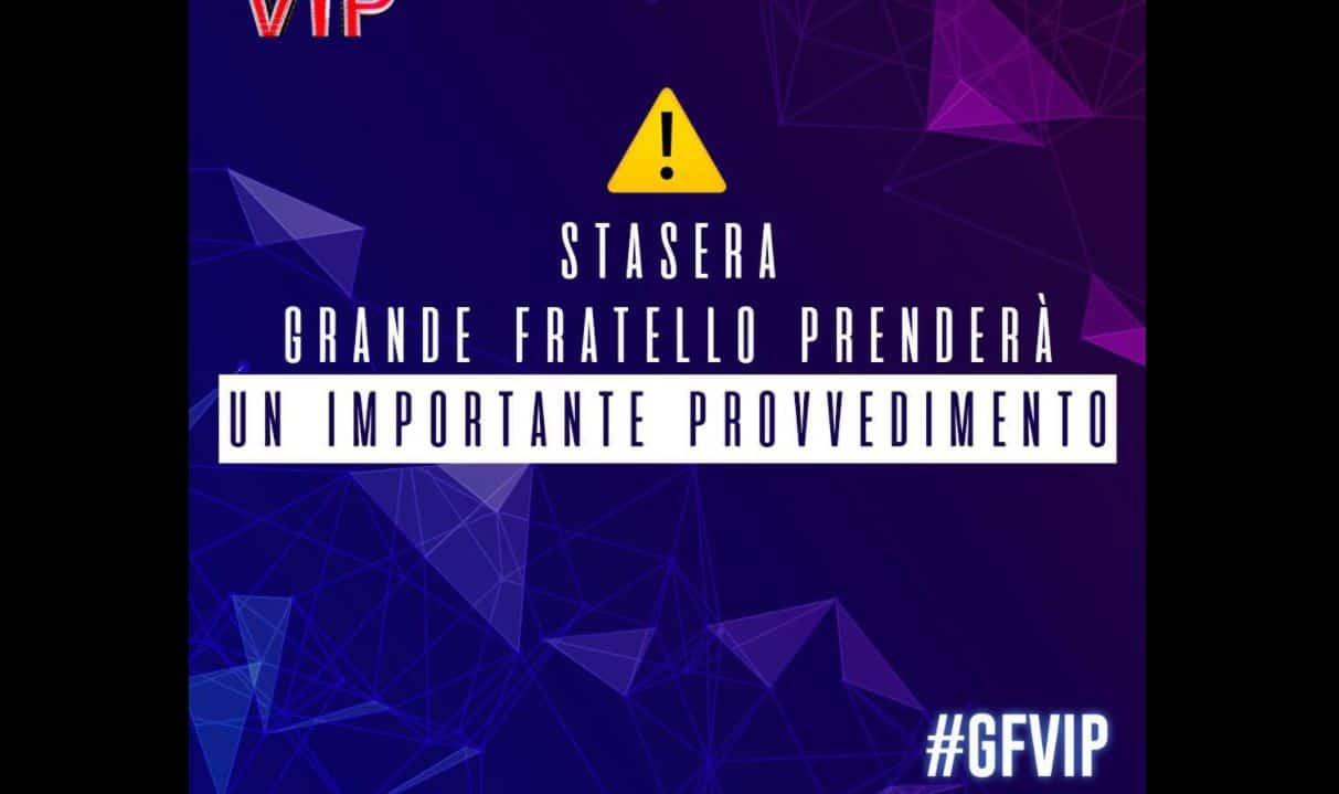 Provvedimento disciplinare al GF VIP 5 e Antonella Elia commenta disgustata