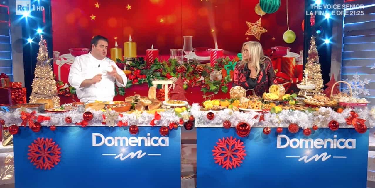 Le ricette di Natale di Gennaro Esposito, a Domenica In i piatti per il pranzo e il cenone (Foto)