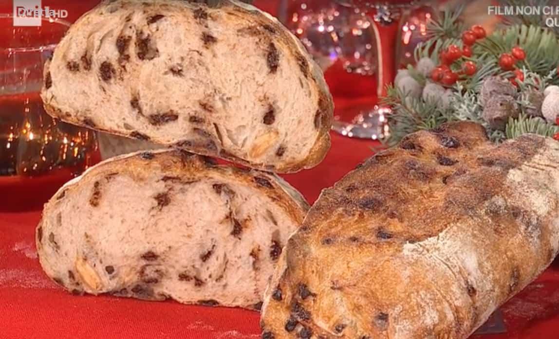 Pane allo zenzero cioccolato e mandorle di Fulvio Marino per il Natale E' sempre mezzogiorno