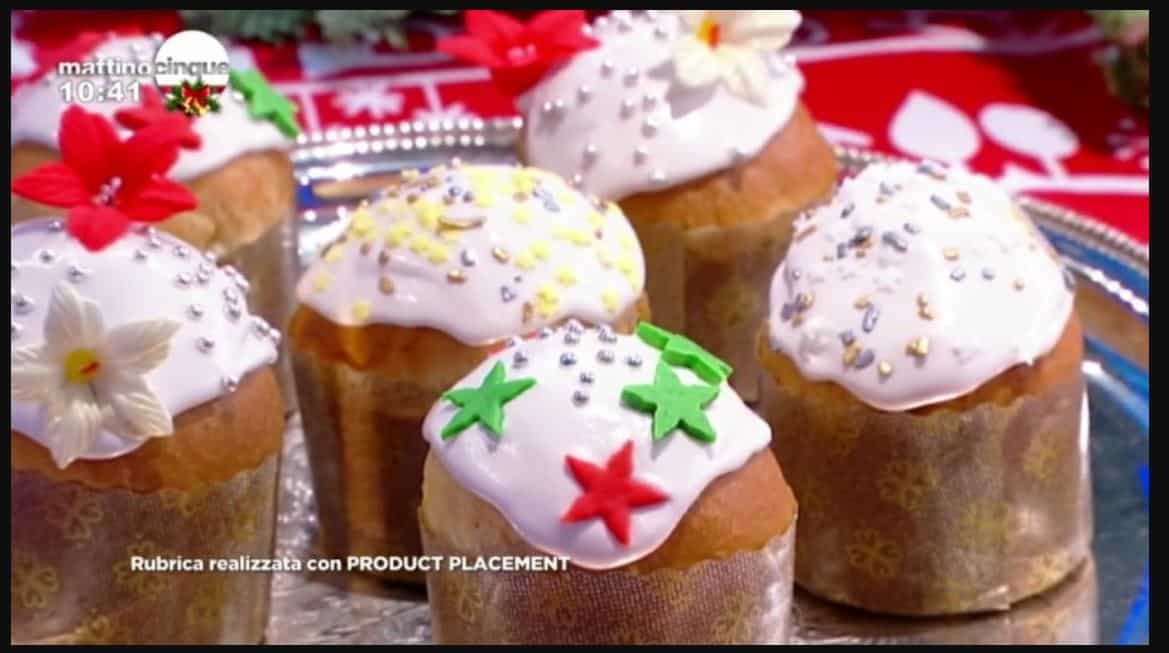 Panettoni glassati per Natale: una ricetta di Samya