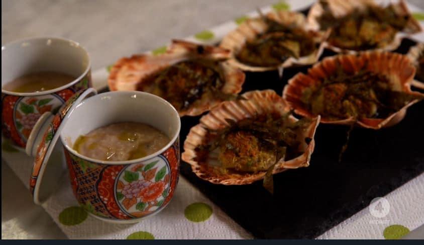 Capesante con alghe nori: una ricetta di Anna Moroni per il Natale